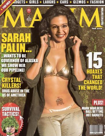 Sarah Palin in Maxim